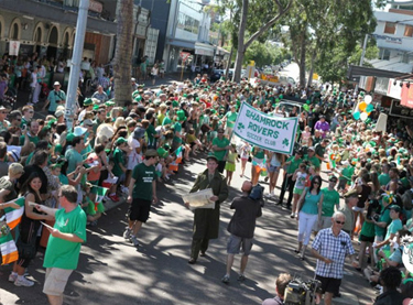 St Patrick's Day (WA) Parade and Family Fun Day (FREE EVENT)