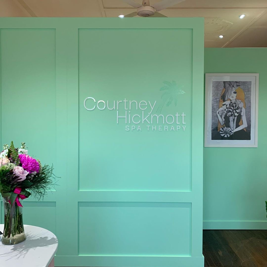 Courtney Hickmott Spa Therapy